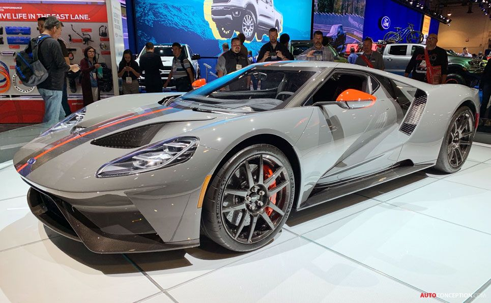 New Track Focused Ford Gt Carbon Series Unveiled Ford Gt Car