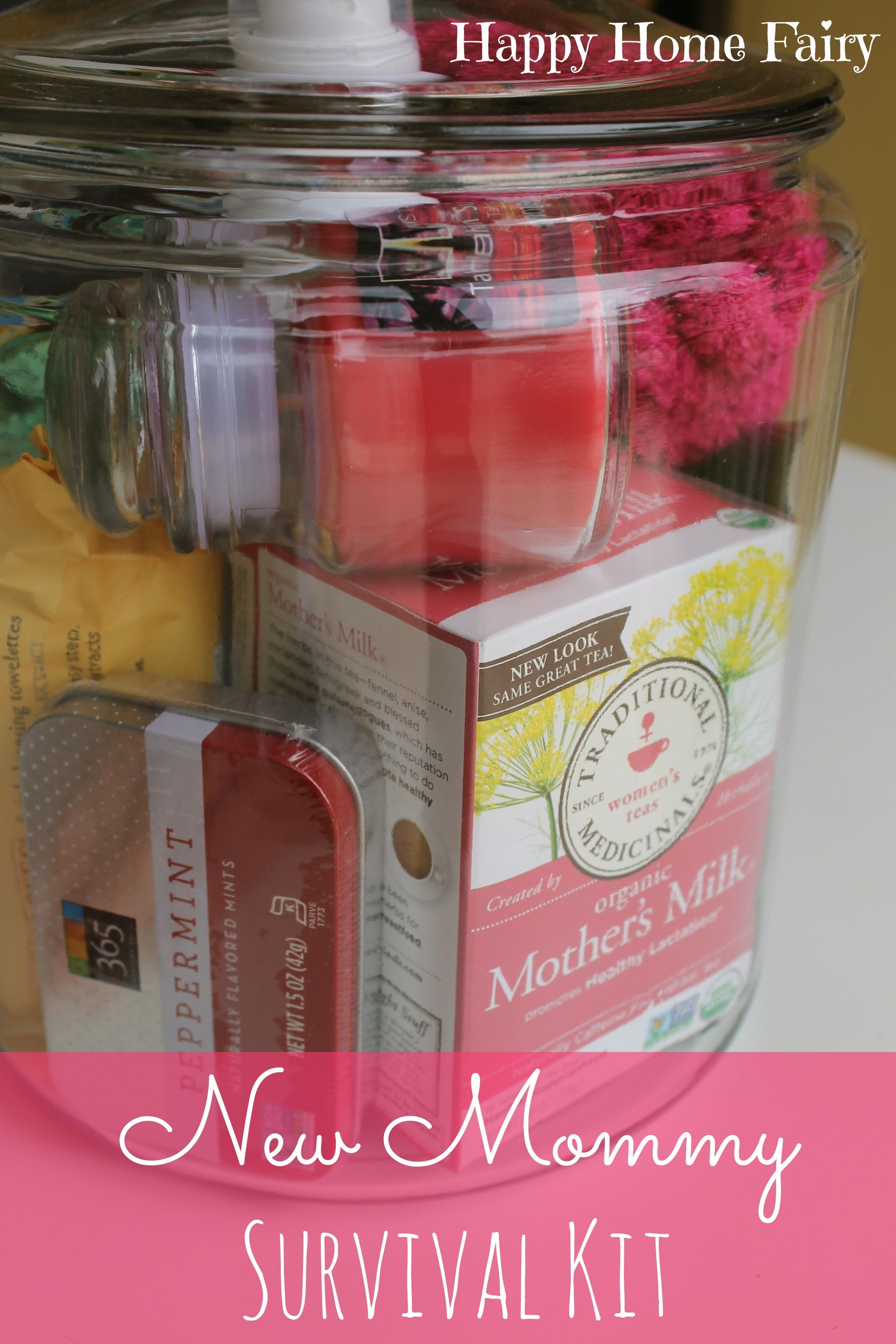 New Mommy Survival Kit Gift Ideas Baby Shower Gifts