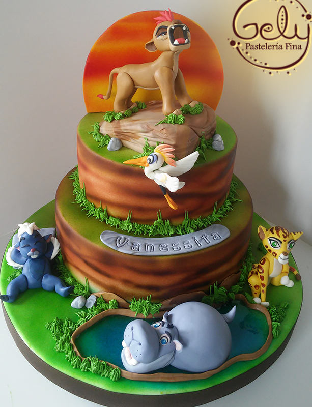 The Lion Guard Cake Pinteres