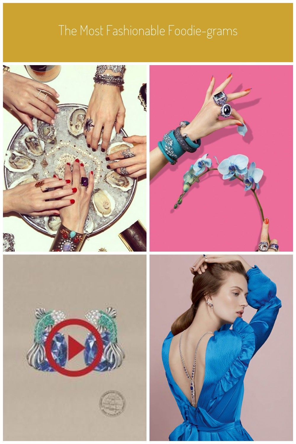 Photo of Fashion meets food on Instagram. See the chicest foodie accounts here. #Jewelry …
