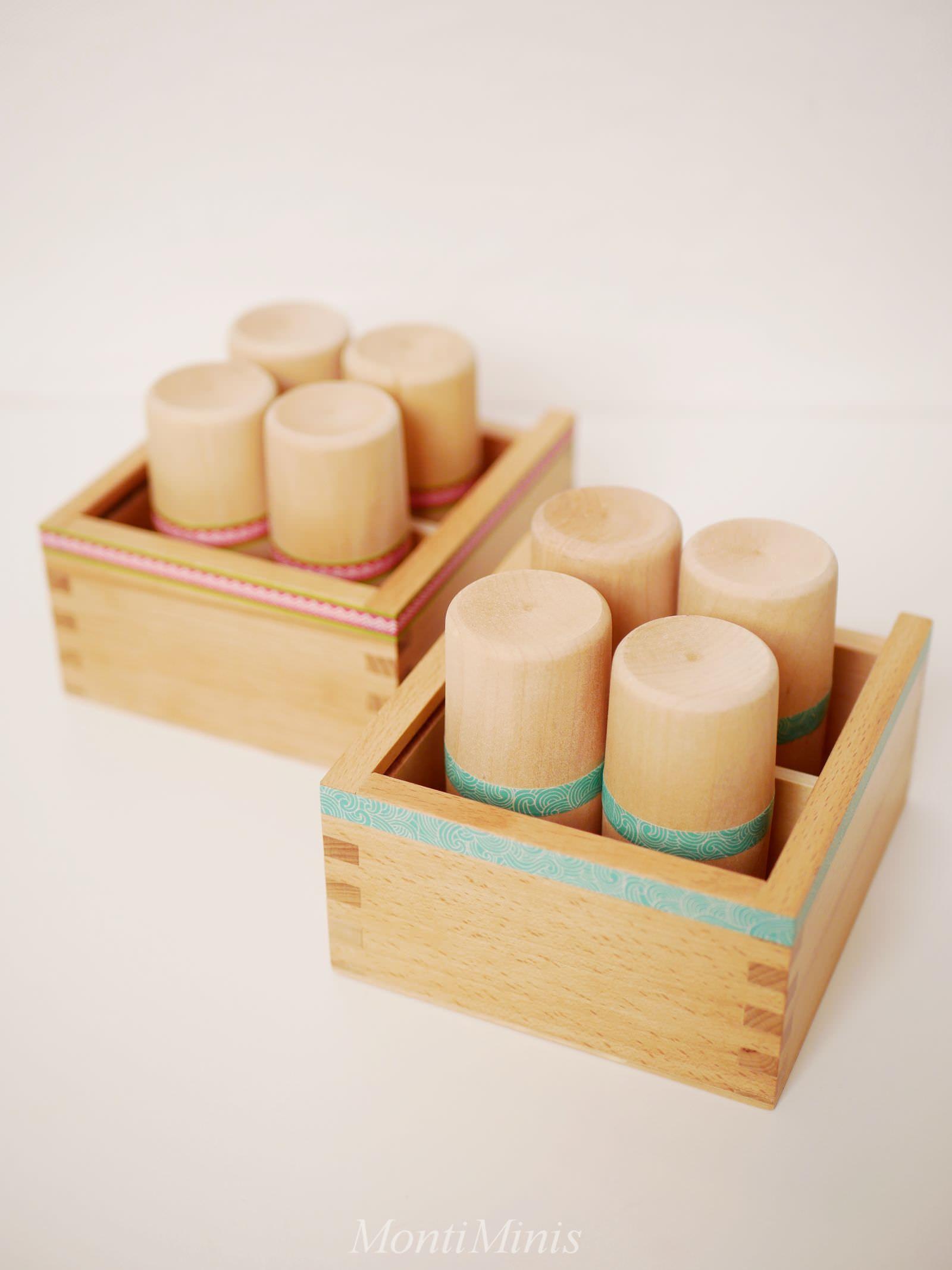 DIY: Montessori Geräuschdosen (Anleitung & Spielideen #montessoriselbstgemacht