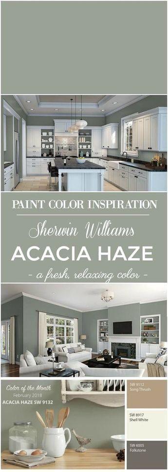 Photo of Sherwin Williams Acacia Haze Paint Color
