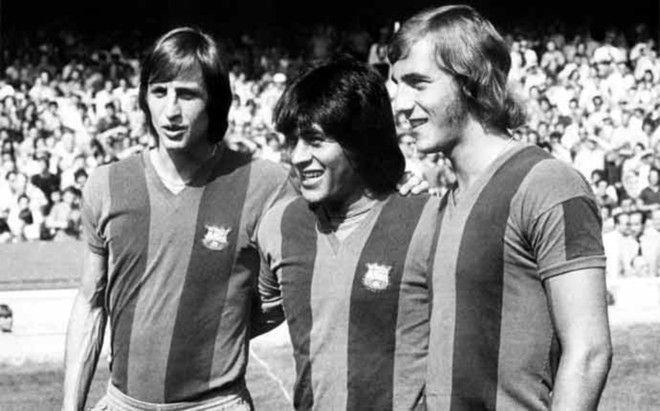 Johan Cruyff, con Sotil y Neeskens | Leyendas de futbol, Fotos del ...
