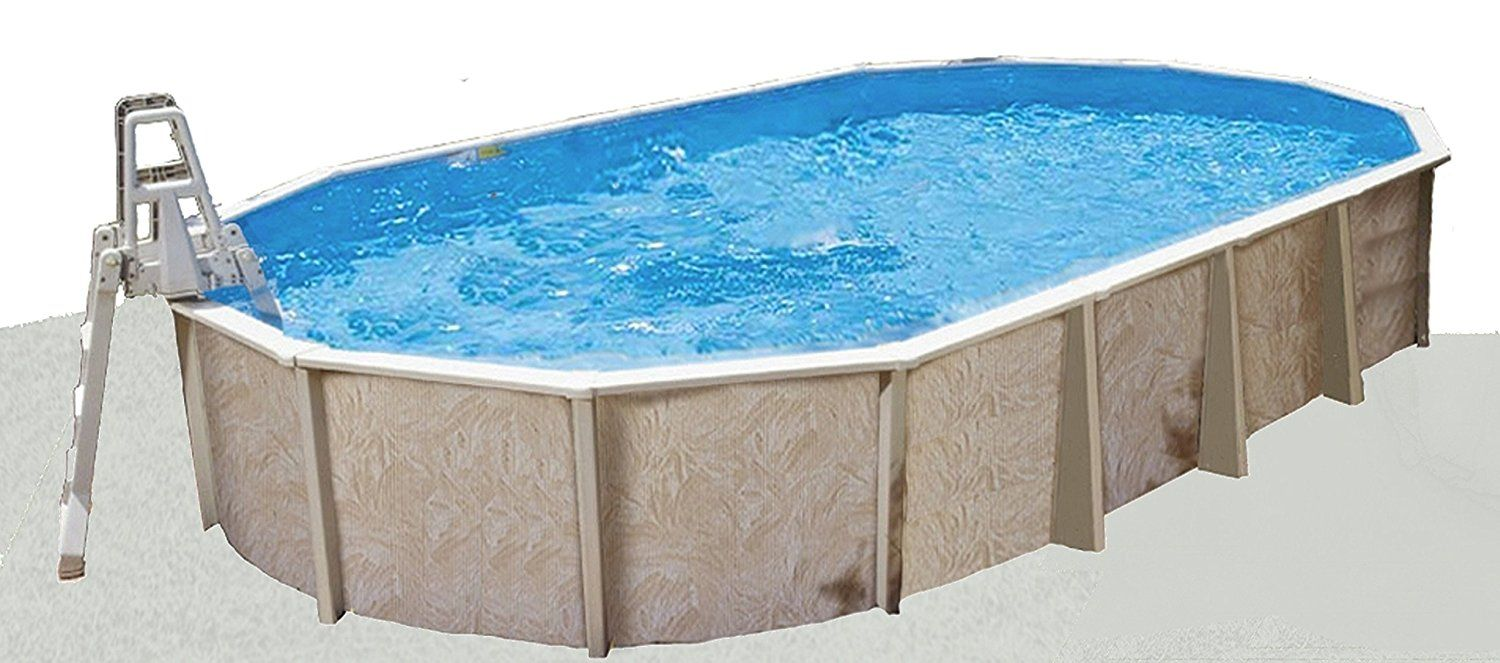 Interline 55600292 12.5 x 6.4 m Oval Sub-Liner | Pools, Hot Tubs and ...