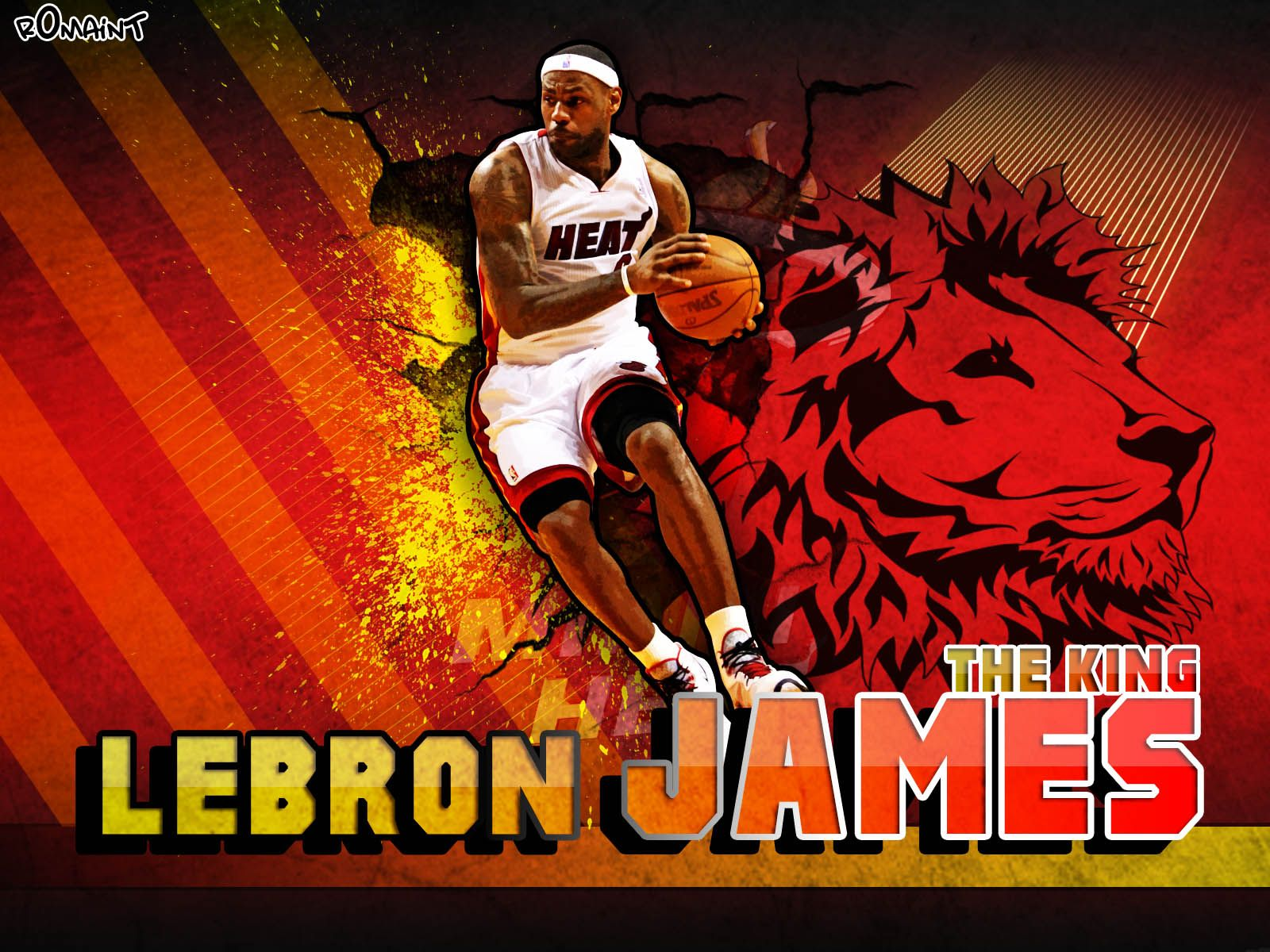 lebron james king logo wallpaper wwwimgkidcom the