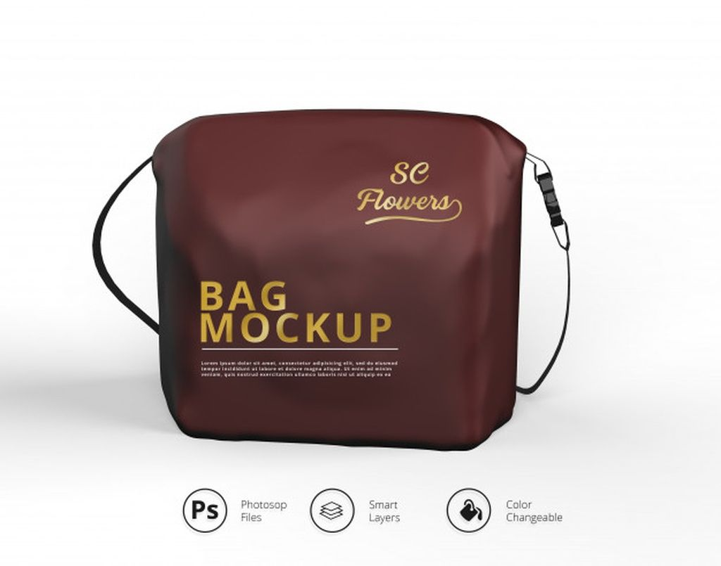 Download Cosmetic Travel Case Mockup Paid Ad Affiliate Travel Case Mockup Cosmetic Bag Mockup Makeup Bag Psd Template Free