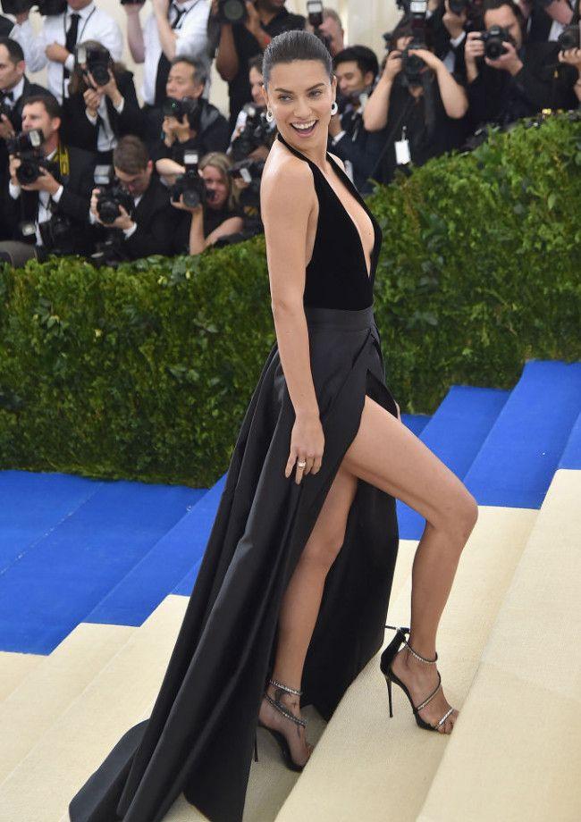 Adriana Lima Narrowly Avoids A Wardrobe Malfunction Then Parties With Her Ex Julian Edelman
