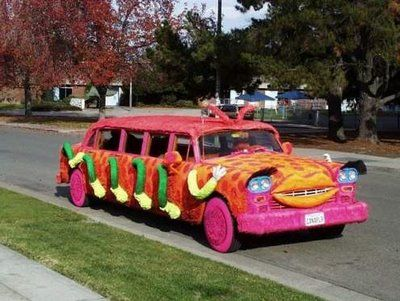 Can You Imagine Go To Prom In This With Images Weird Cars