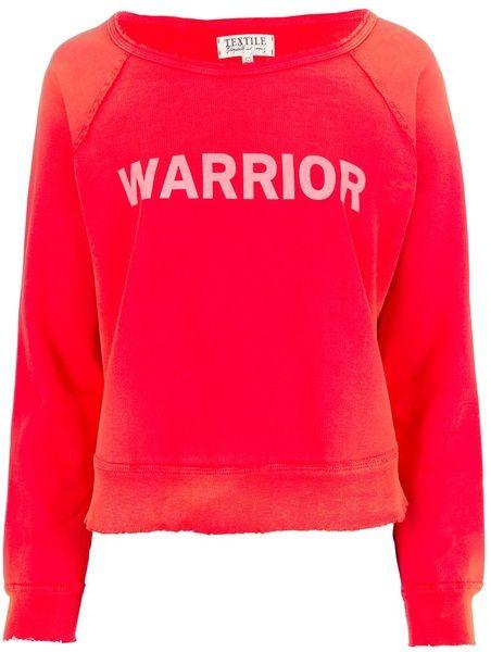 $195 ELIZABETH AND JAMES Red Warrior Sweatshirt - Lyst