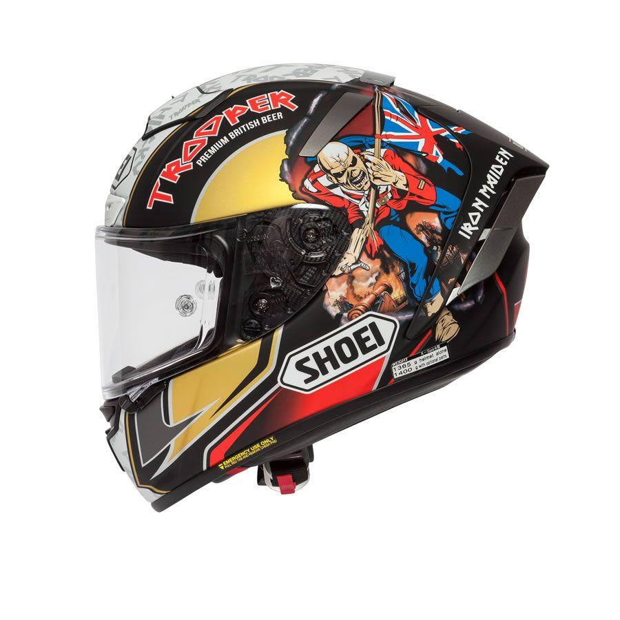 Shoei X Spirit 3 Hickman Trooper 2018 Replica Helmet