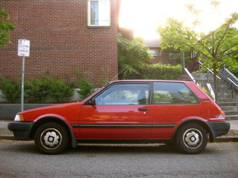 1988 Toyota Corolla Fx Toyota Corolla Corolla Toyota
