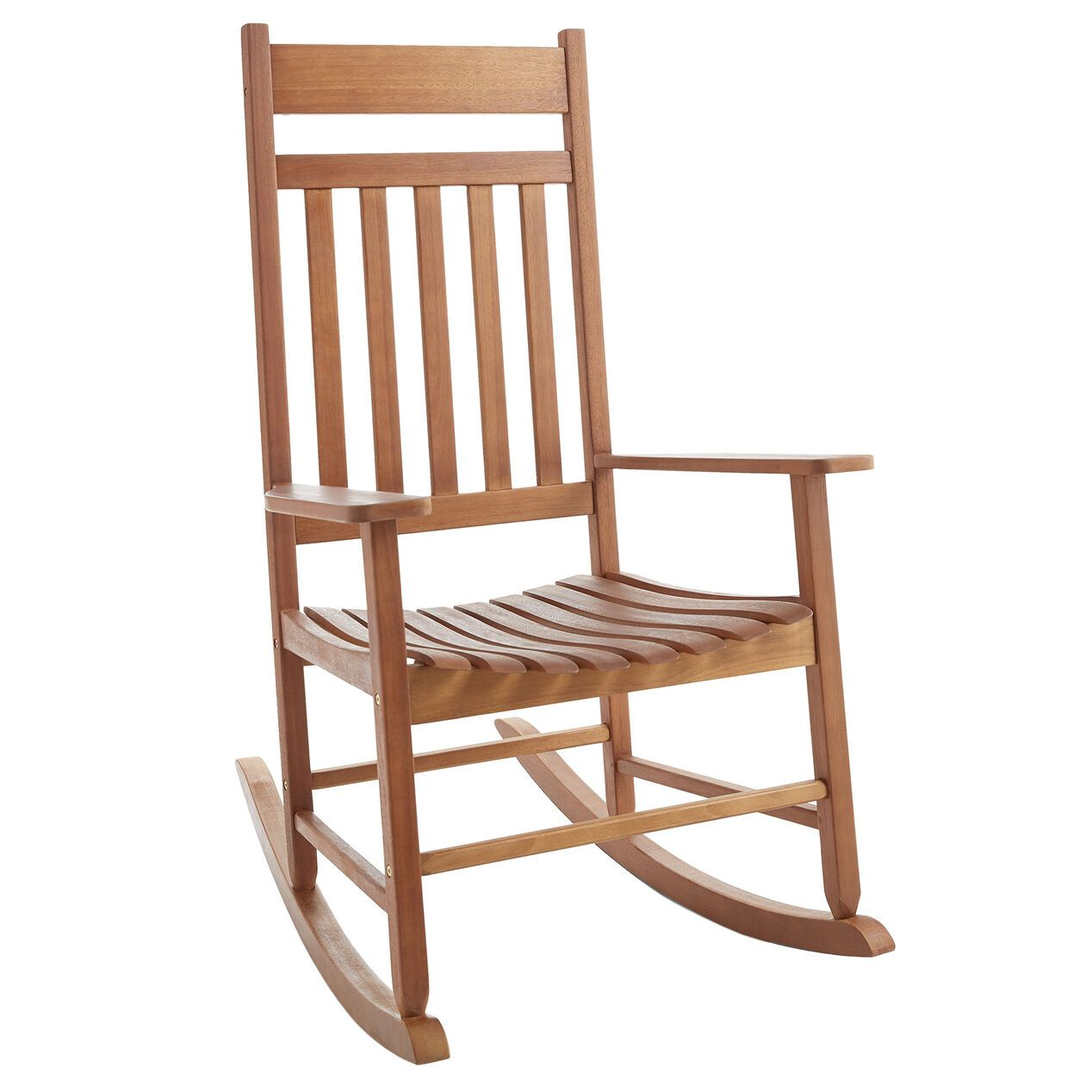 Wooden Rocking Chair At Home In 2020 Wooden Rocking Chairs Rocking Chair Patio Chairs