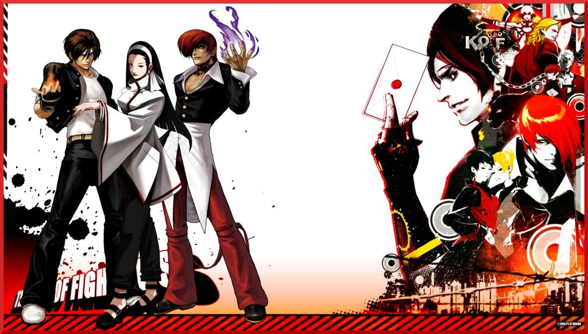 Kof Orochi Saga Wallpaper By Topdog4815 On Deviantart Kof