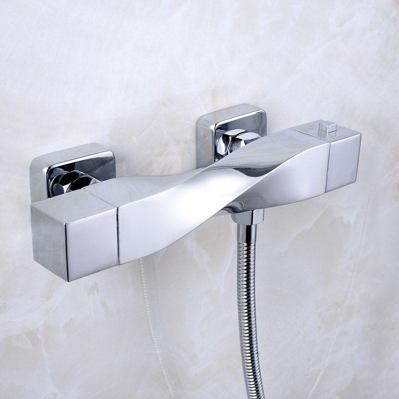 ION, mitigeur thermostatique douche chromé #robinet #douche ...