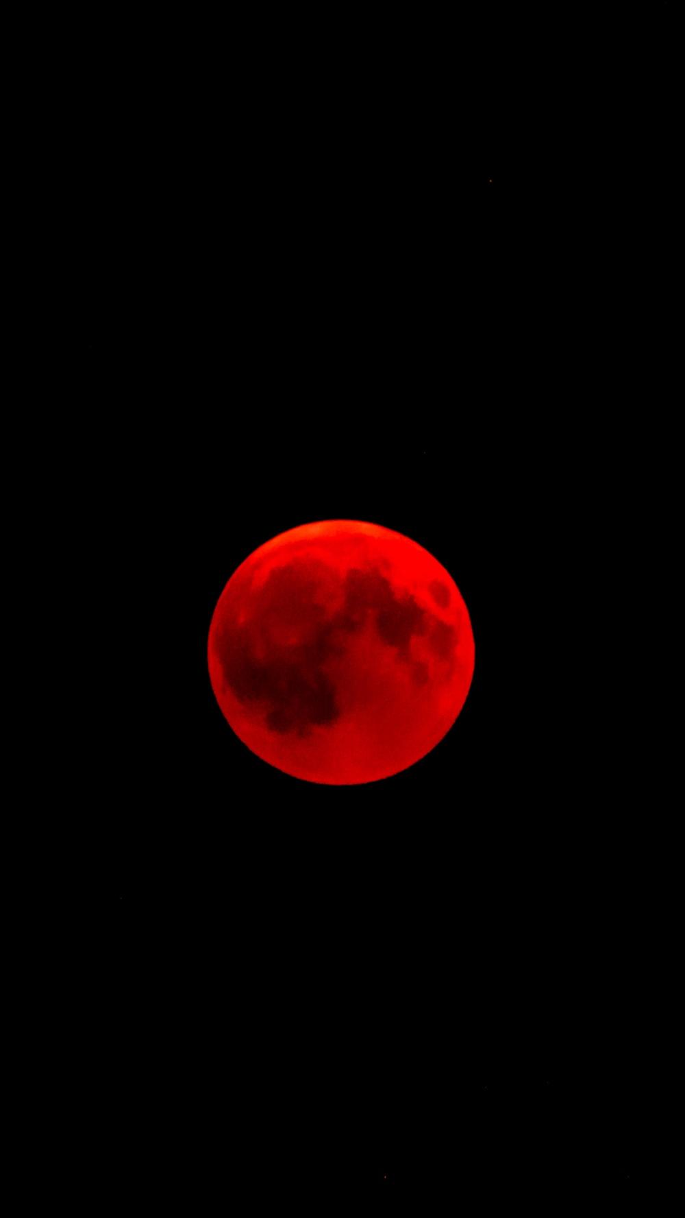 Eclipse Red Moon Red Moon Dark Red Wallpaper Galaxy Wallpaper