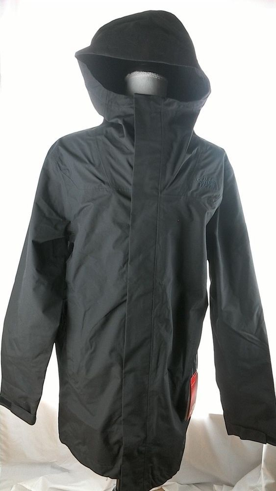 44dc79b41 Details about New The North Face El Misti Trench Coat Men's Small ...