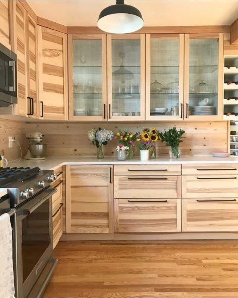 Love these white oak cabinets | Kitchen inspirations, Oak ...