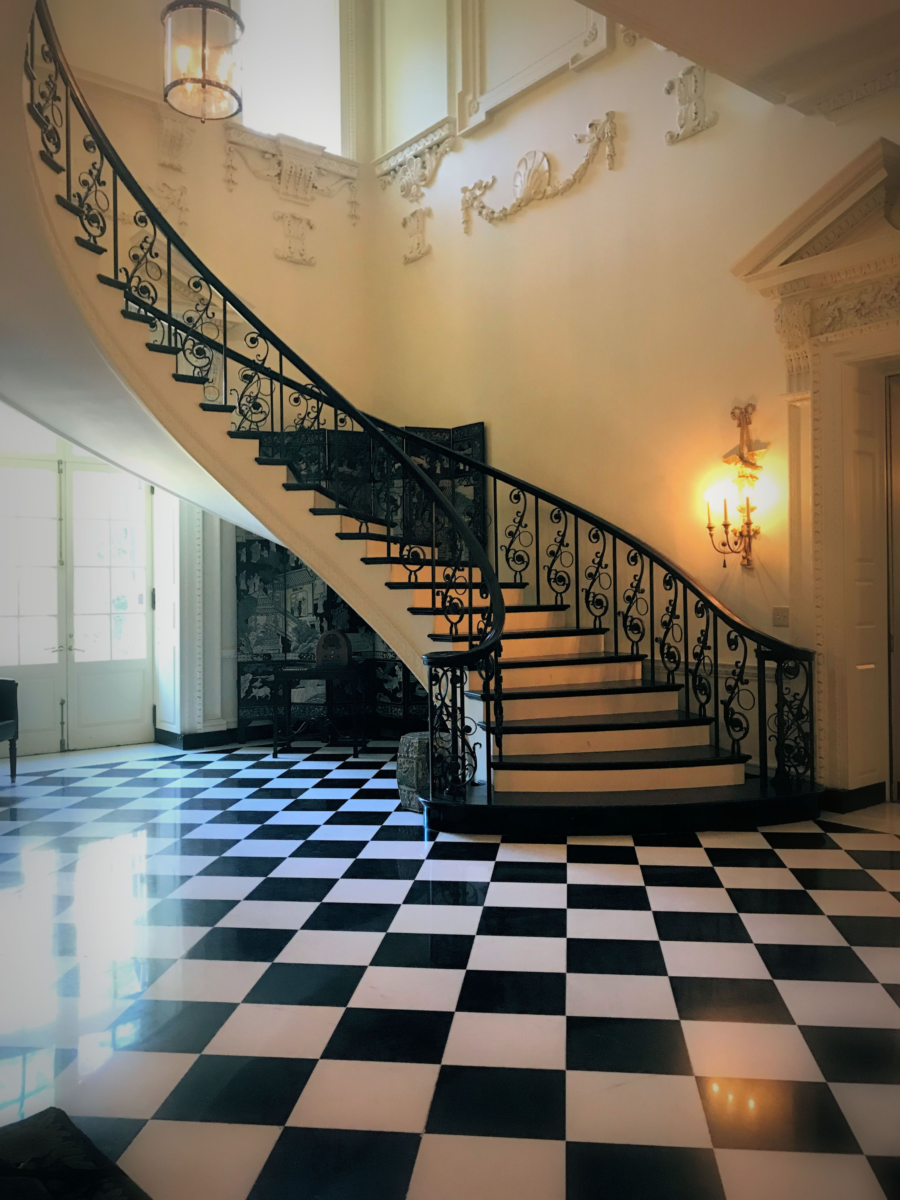 Gorgeous Foyer And #spiral #staircase #Swan #House #Atlanta, #Georgia