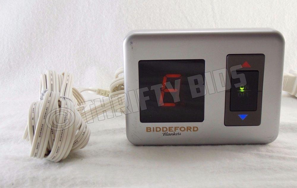 Lot 2 Biddeford TC15B2 Electric Heating Blanket Controller Only 4-Prong 180 Watt