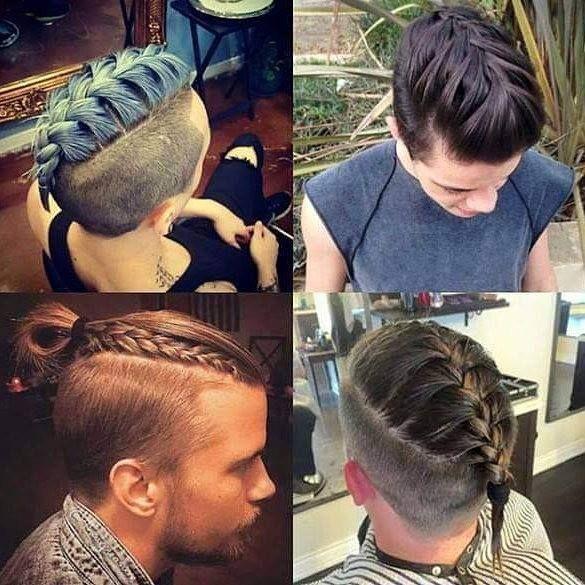 Manner Frisuren Frisuren Geflochtene Frisuren Barte Und Haare