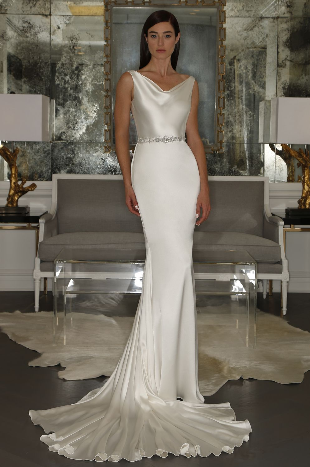 Romona keveza l goddess collection luxe bridal style rk
