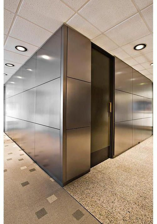 Metal Wall Panels  The Allied Metal Group #InteriorDoors  Metal wall panel, Wall panels, Wall