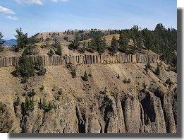 Colonnes de basalte http://www.sunsetbld.com/yellowstone.php