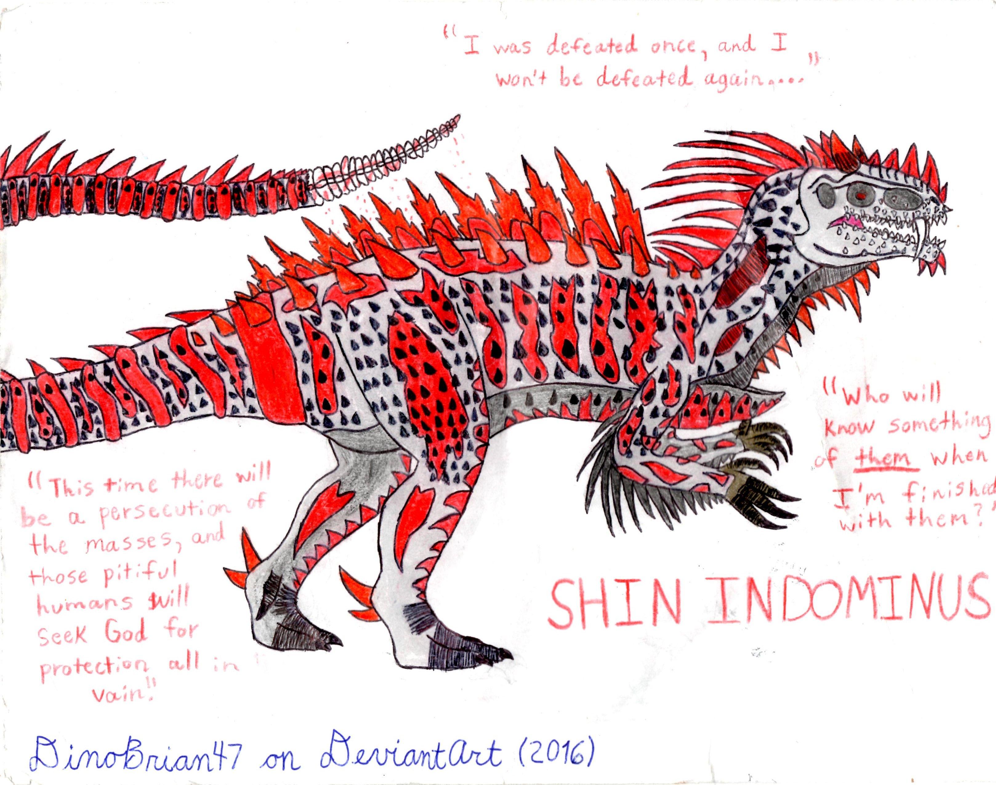 Indominus Rex Resurgence (Halloween Special) by