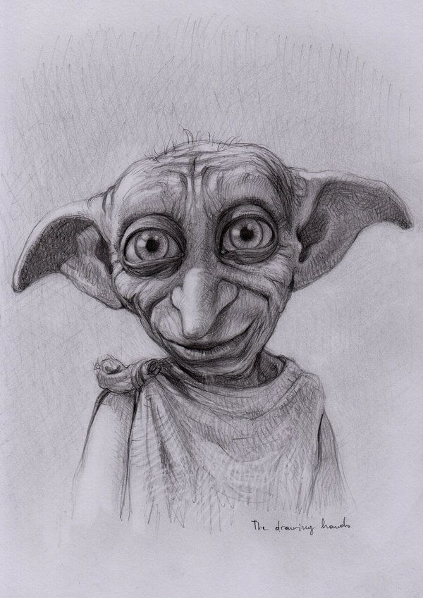 Day 7 Favorite Minor Character Harry Potter Sketch