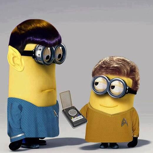 TOS: Minion Spock & Captain Kirk