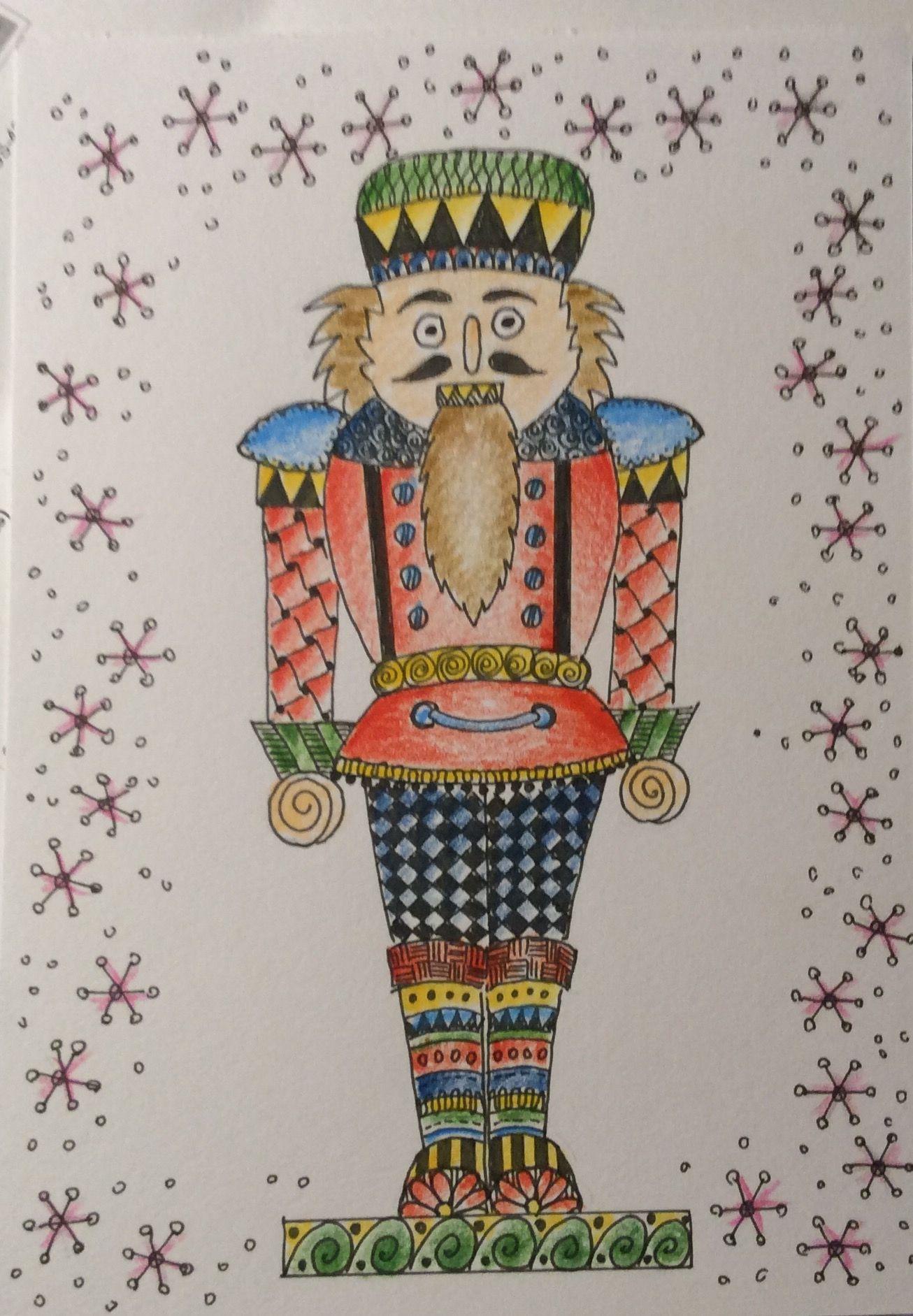 Christmas Card рисуем с детьми