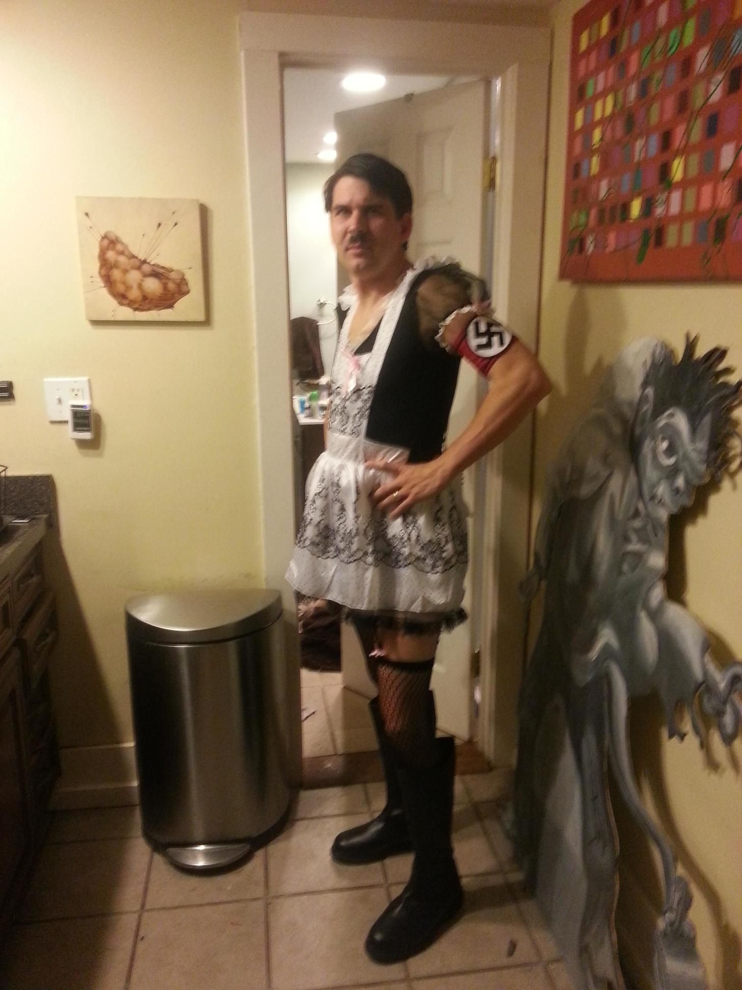 french maid-olf hitler | halloween costumes | pinterest | halloween