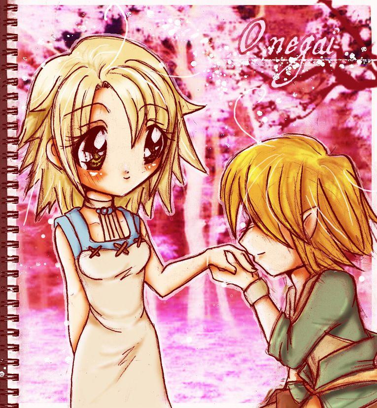 Link and Ilia ^^ by LordessAnnara14 - Fanart Central