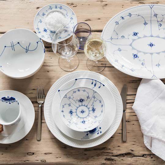 royal copenhagen opd kning musselmalet megamusen hvid. Black Bedroom Furniture Sets. Home Design Ideas