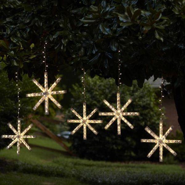 Outdoor Snowflake Lights - Outdoor Snowflake Lights TV Outdoor Lighting Pinterest