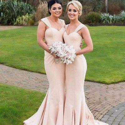 Gorgeous mermaid long bridesmaid dress wedding party dress - Thumbnail 2 5a4094f2d41b