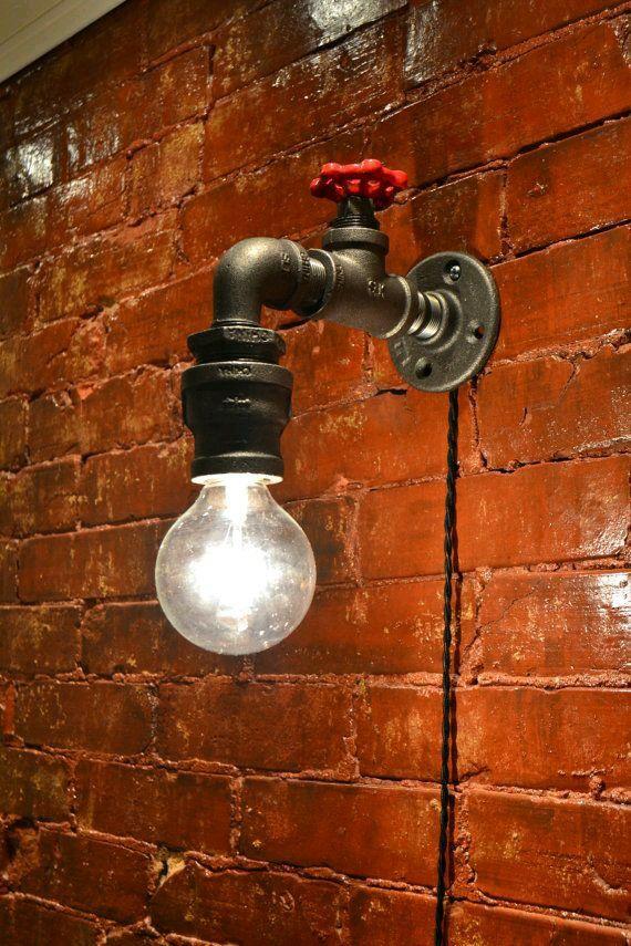 Light Fixture For Garage Steampunk Lighting Industrial Wall Lights Lamp