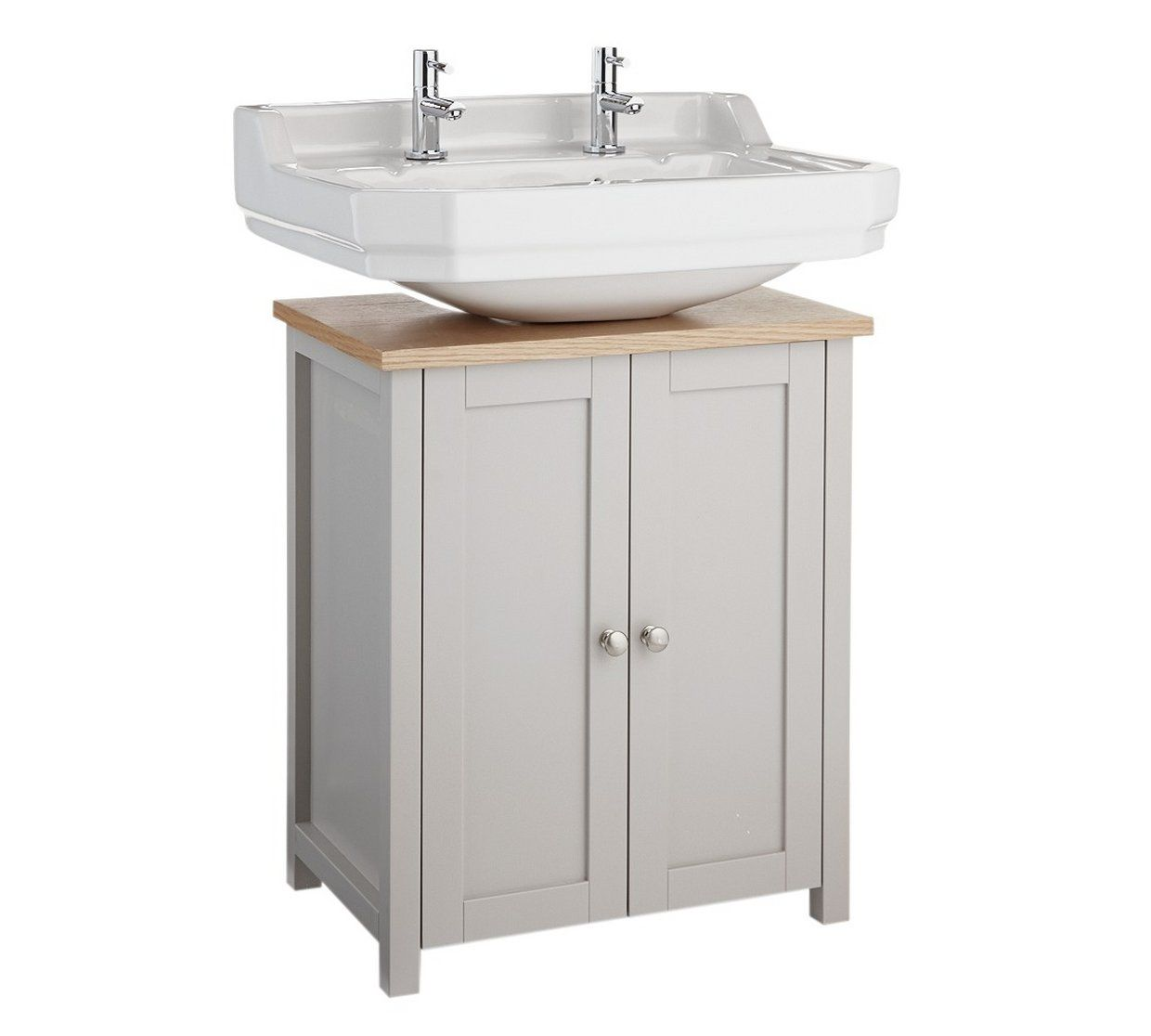 Pleasing Buy Argos Home Livingston Undersink Storage Grey Pine Home Interior And Landscaping Ologienasavecom