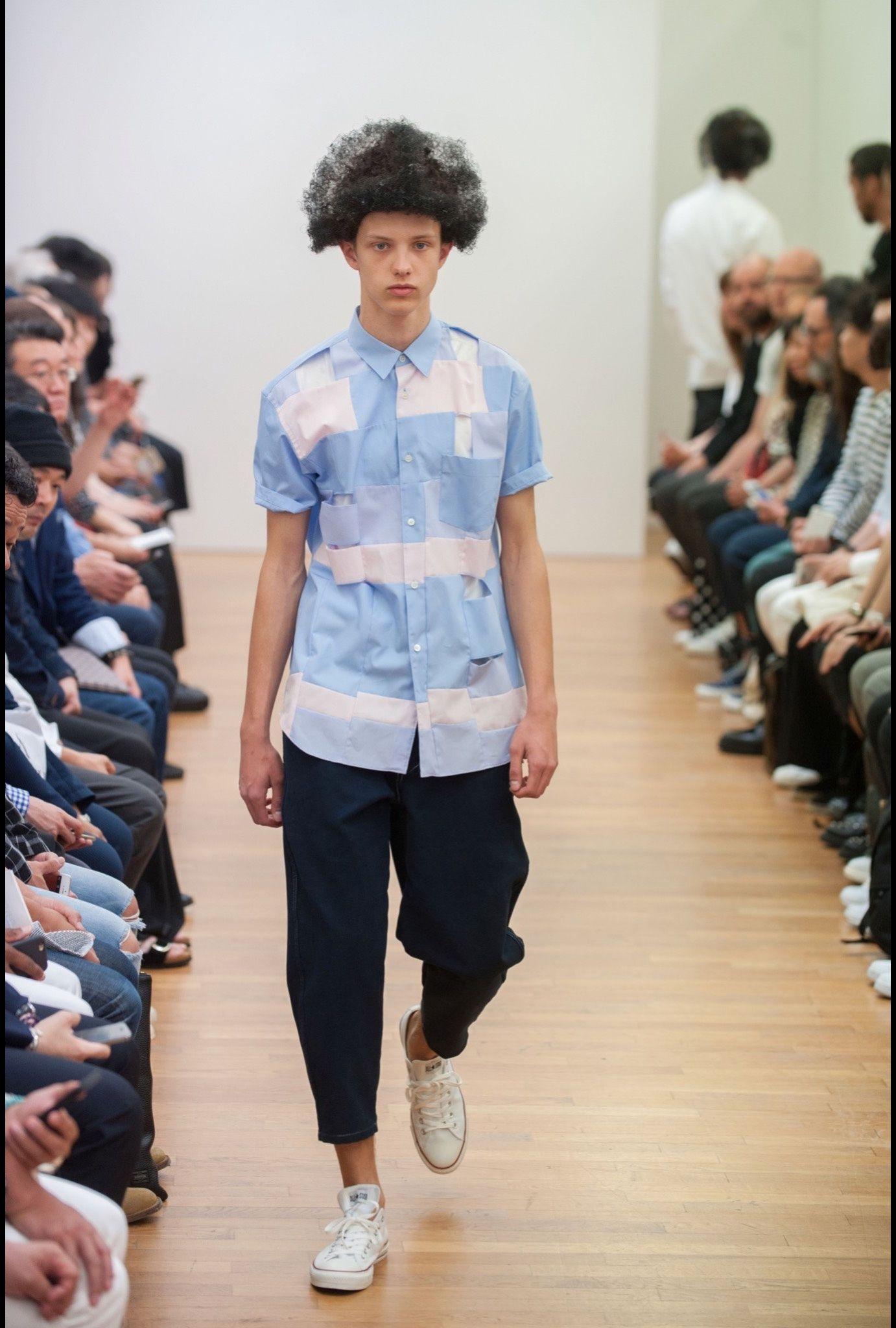 Comme des Gar�ons Shirt: menswear spring/summer 2016