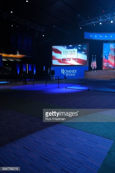 The MItt Romney headquarters on election night at the Boston... #panopanayia: The MItt Romney headquarters on election night… #panopanayia