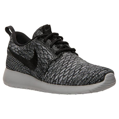 Nike Women S Roshe One Casual Shoes Black Dark Grey White