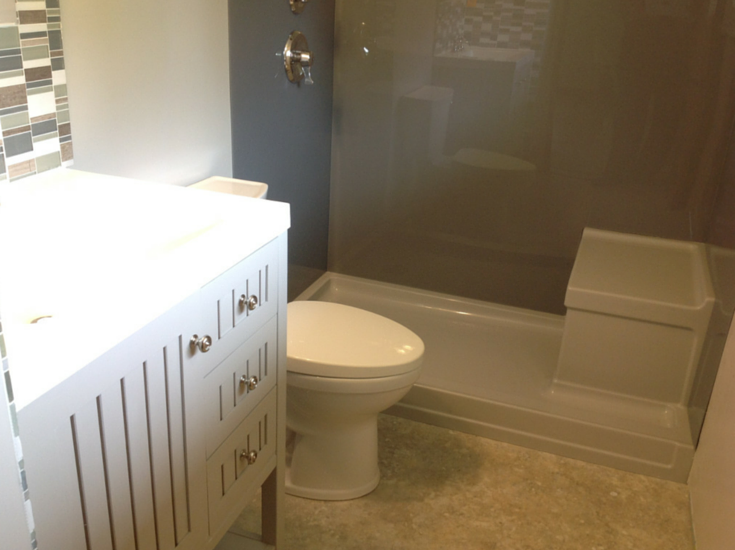 How to create a fun summer home feel in your 5 x 8 bathroom
