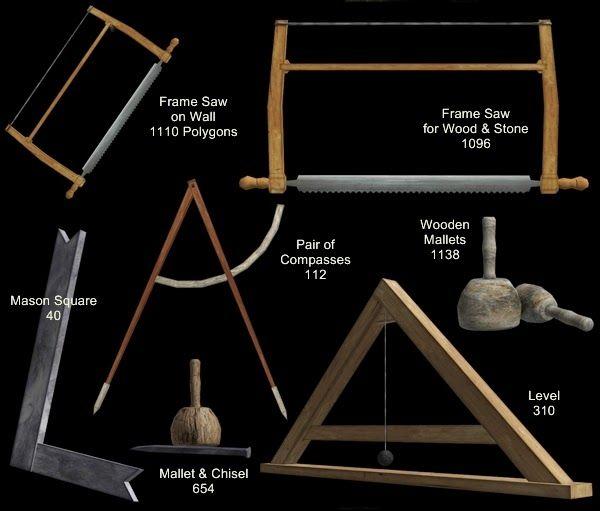 The Medieval Smithy SIMS 2: The Stonemason Set | Medieval