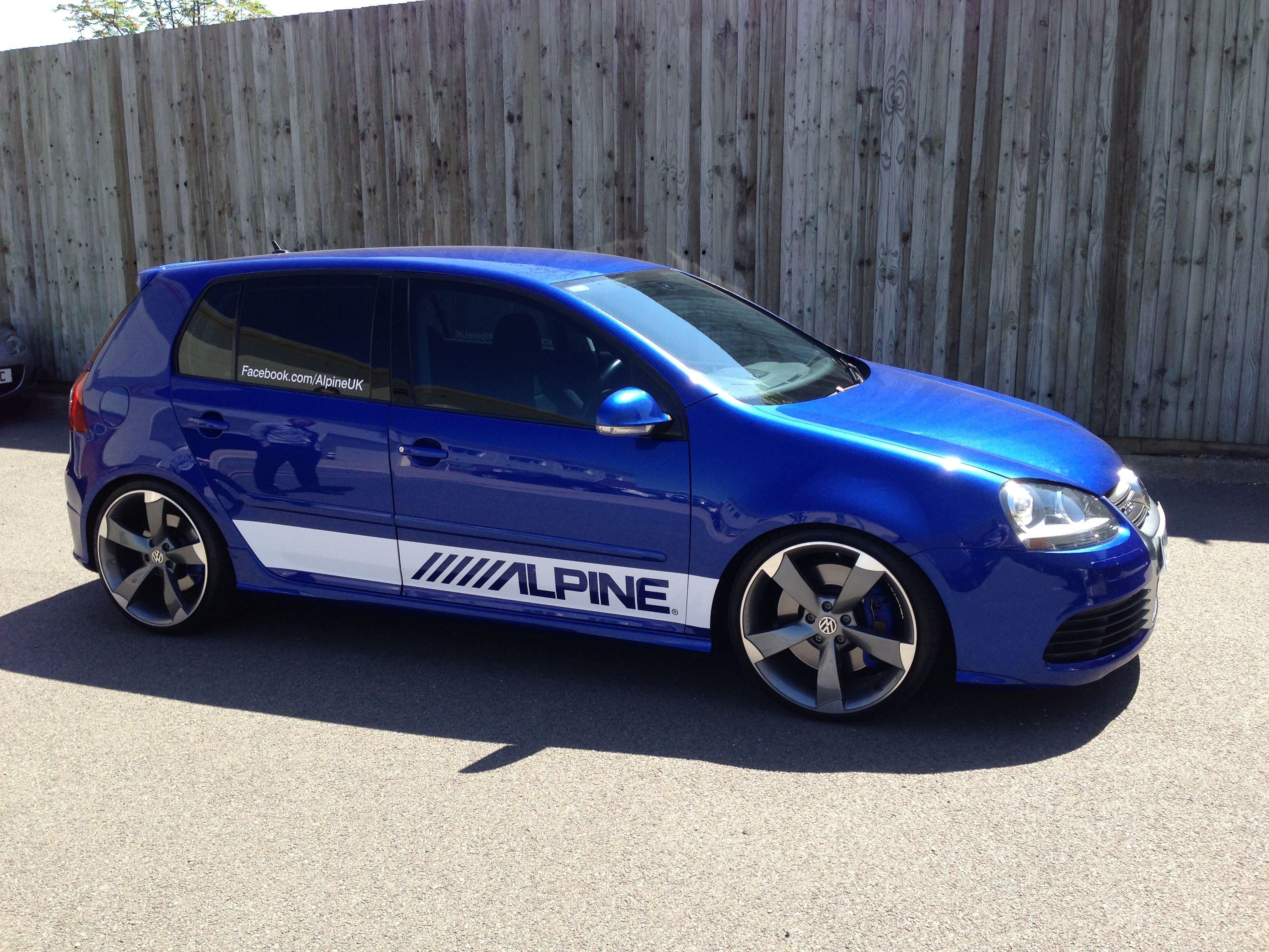alpine uk golf r32 demo car alpine demo cars pinterest cars volkswagen golf and volkswagen. Black Bedroom Furniture Sets. Home Design Ideas