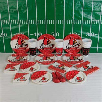 Louisville Cardinals Ultimate Tailgate Party Pack Party Packs Tailgate Party Tailgate
