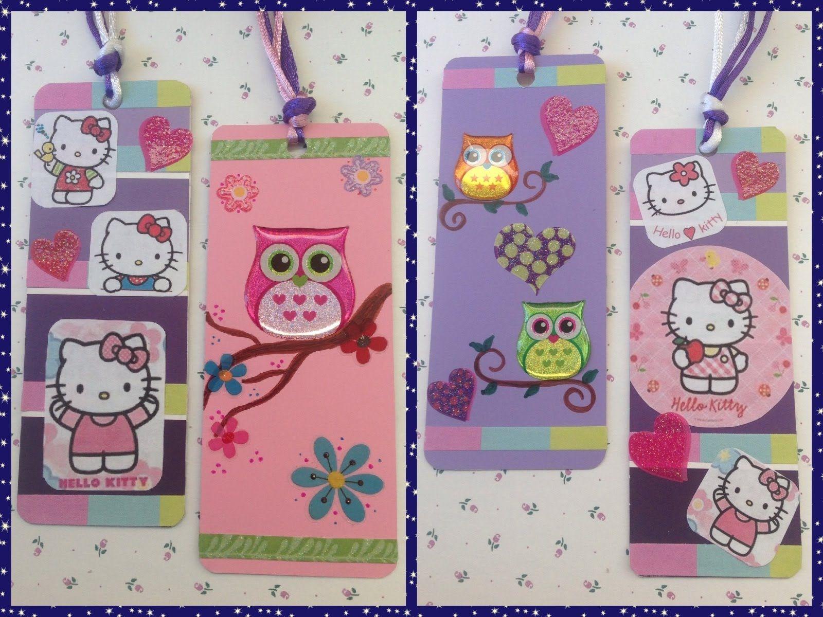 Hello kitty scrapbook ideas - Separadores De Libros Scrapbooking Ideasideas