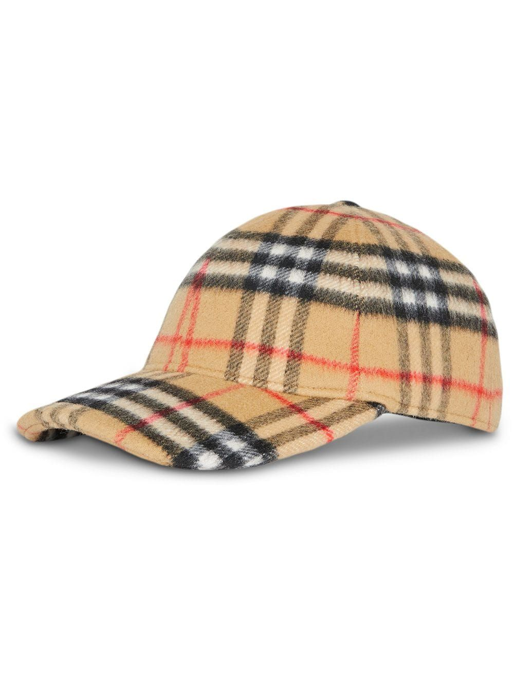2b08a9906 Burberry Vintage Check Wool Baseball Cap - Yellow in 2019 | Products ...