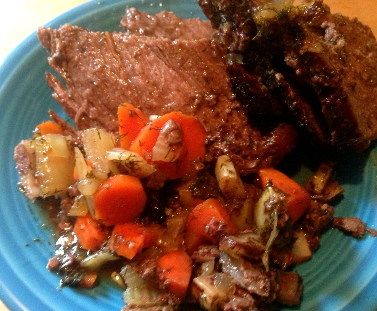 Pot Roast Dinner from Bottom Round | Recipes to Make | Pot ...