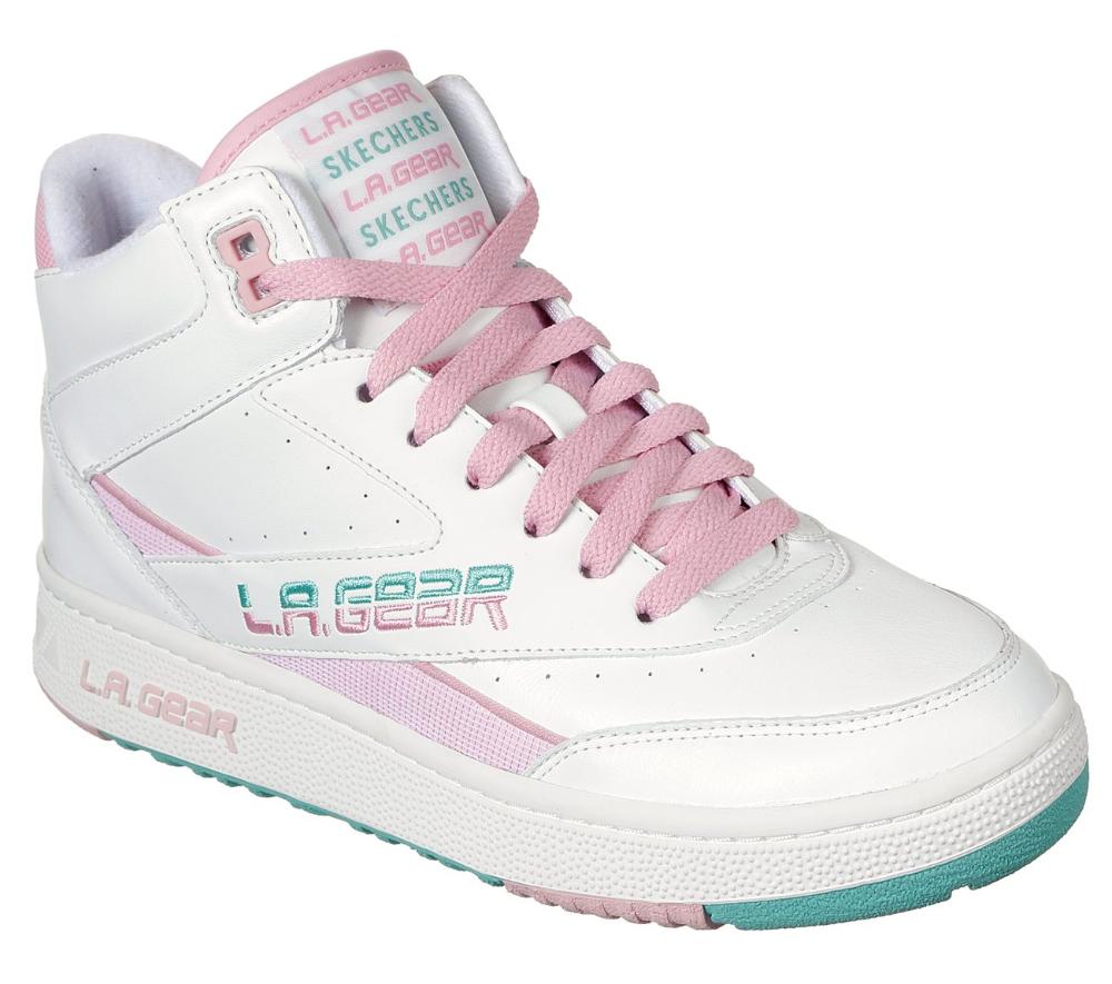 abdomen Tomar un baño Discriminar  Buy SKECHERS L.A. Gear: Hot Shots L.A. Gear by Skechers Shoes | Skechers,  80s shoes, Skechers women