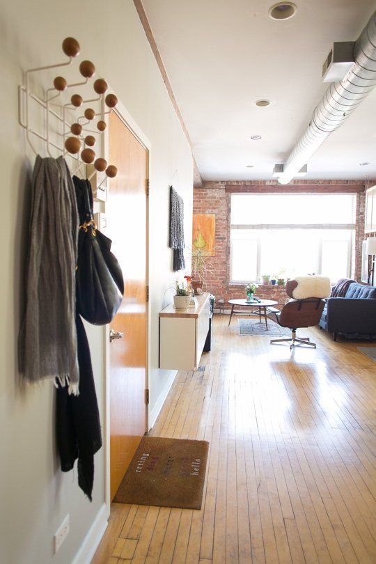 Faking an Entryway in a Small Space: 6 Strategies That Really Work